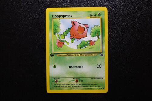 Pokemon 1 Edition Neo Entdeckung Hoppspross 55//75 Karte 1te deutsch MINT