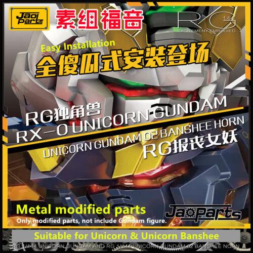 for RG 1//144 Gundam Unicorn Banshee JAOparts Metal Detail Replace Parts ToolFree