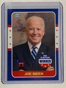 Set of 2020 President JOE BIDEN Winner and DONALD TRUMP Loser Election cards