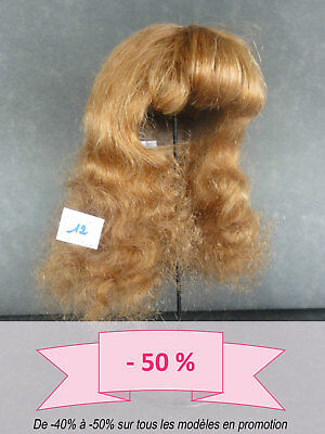 -50% Promo Parrucca Bambola T12 (38cm) 100% Capelli Lunga -bambola Parrucca Grande Liquidazione