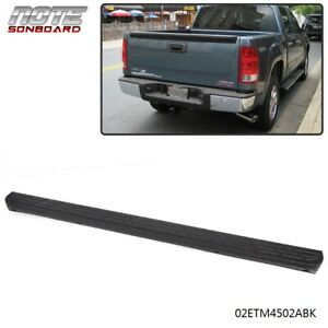 For 2007-2014 Silverado Sierra 1500 Black Tailgate Moulding Top Protector Cover