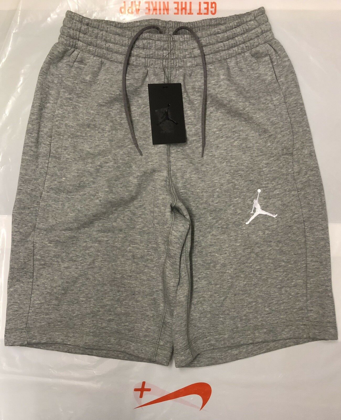 7bbe5f355863 NIKE AIR JORDAN JUMPMAN MENS FLEECE SHORTS SIZE Large Brand New With Tags