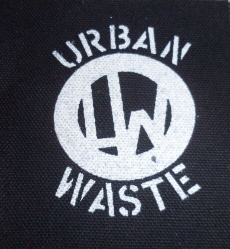 Urban Waste Patch Hardcore Punk Bad Brains Reagan Youth Stalag 13 SSD Warzone
