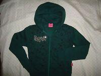 Bratz Rhinestone Logo Girls Size 12 Sweatshirt Hoodie Zipper Front