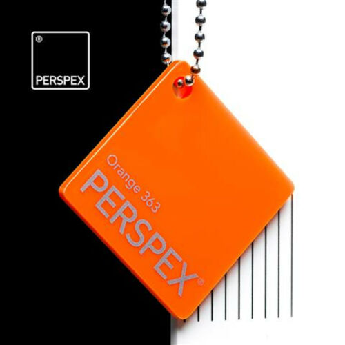Acrylic Perspex Plastic Sheet // Clear Frost Mirror Tint Fluorescent Colour