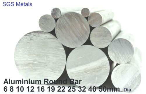 4 Lengths ROUND Aluminium Extruded BAR ROD 11 Diameters