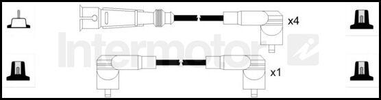 73122 ignition cable kit SEAT AROSA CORDOBA IBIZA SKODA FELICIA VW CADDY POLO