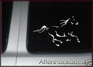 Horse Trotting Sticker Decal Stallion