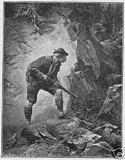 German Bavarian Hunter 1888 6x5 Inch Print