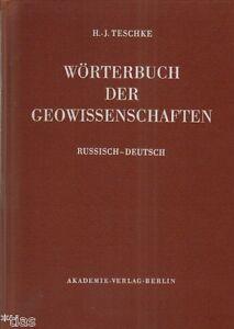 Teschke-Woerterbuch-der-Geowissenschaften-Russisch-Deutsch