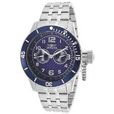 Invicta 14887 Men's Specialty Blue Carbon Fiber Dial Steel Bracelet Dive Watch