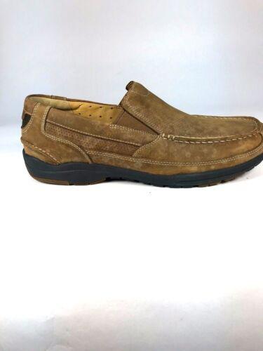 Uk8 Mocasín 5 Claro Piel Us9 Marrón Talla Hombre 5 5 Clarks Zapatos Eur42 5qpw00