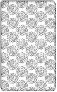 Bébé Drap Lit Junior Feuille Imprimé 100/% coton Matelas 160x80cm Folklore