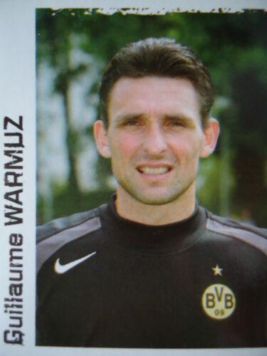 PANINI 121 BL CALCIO 2004//05 Guillaume Warmuz Borussia Dortmund