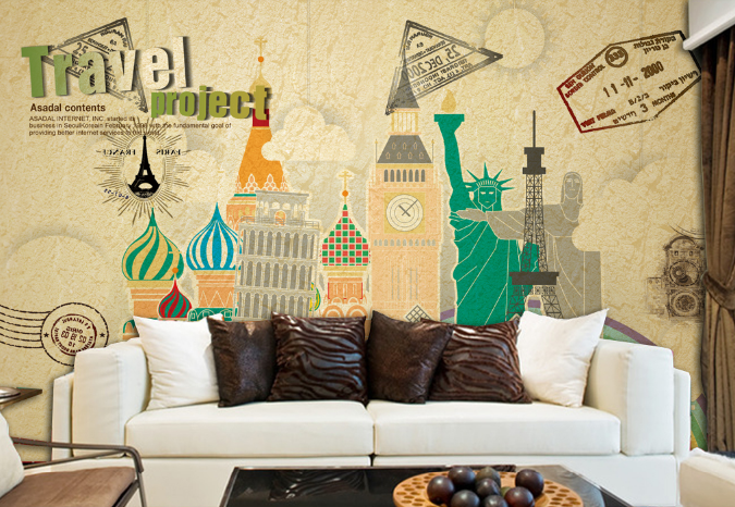 3D Graffiti Tall House 549 Paper Wall Print Wall Decal Wall Deco Indoor Murals