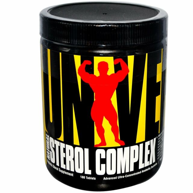 Universal Nutrition, Natural Sterol Complex, Anabolic Sterol Supplement, 180 Tab