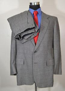 Men-s-Hickey-Freeman-43R-40x29-2PC-Full-Suit-Wool