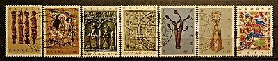 7 Werte Aus Satz ...... Zu Verkaufen Gut Ausgebildete Briefmarken Griechenland Gestempelt Minr 1191 921-927