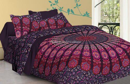 Queen Duvet Cover Multi Dye Mandala Duvet cover Boho Duvet cover Cotton Quilt Cover Bohemian Doona Cover 100/% Cotton Bedding Bed Room Set