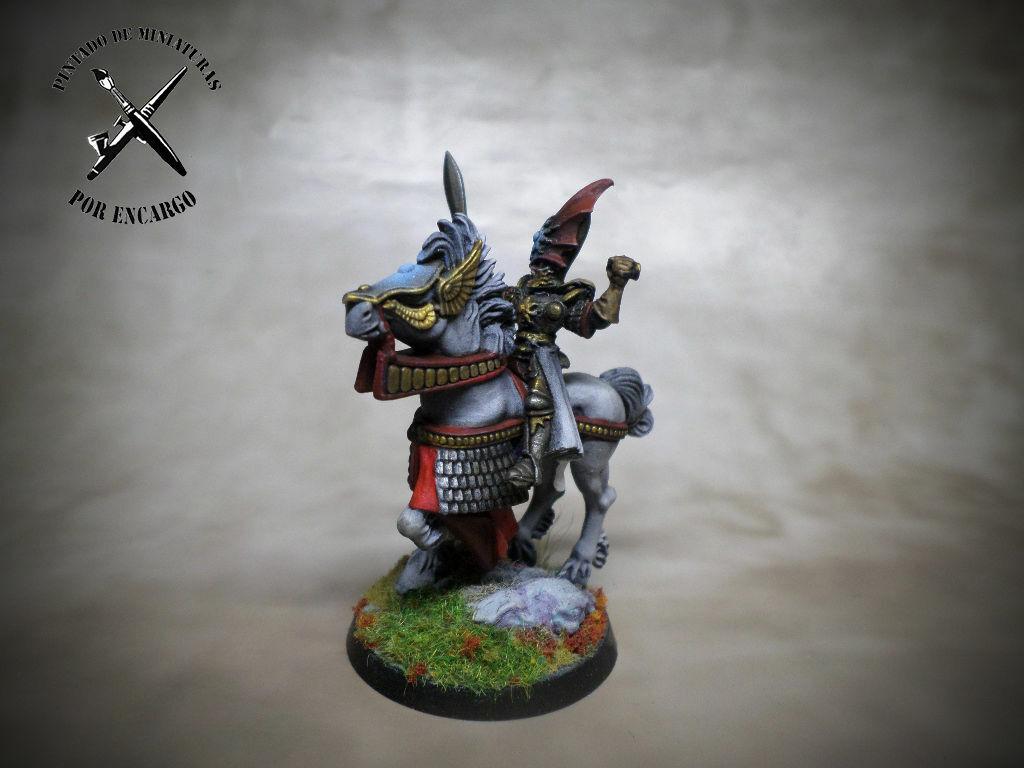 ⚠ elfos arqueros aos + presente Warhammer edad de Sigmar Pro Pintado