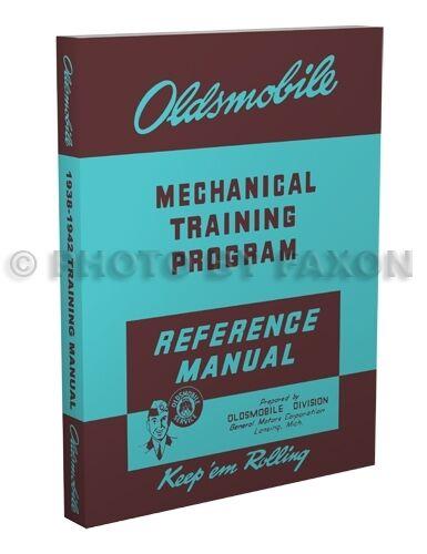 Oldsmobile Shop Manual 1938 1939 1940 1941 1942 Olds Repair Service