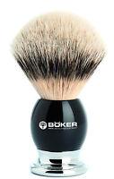 Böker Boker Solingen Shaving Brush Silver-pointed Dachszupf Grenadill - Wood Nip