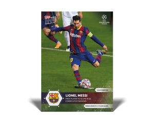 Lionel Messi - 2020 UCL Topps Now UEFA Champions League ...