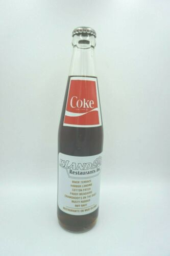 1982 Mud Island Memphis Opening Commemorative Coca-Cola Bottle Coke Never Opened