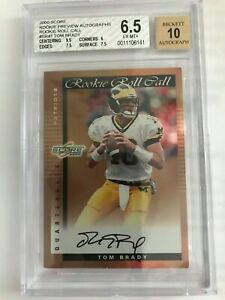 2000-Score-Preview-Rookie-Roll-Call-Auto-50-Tom-Brady-Rookie-Card-BGS-6-5-10