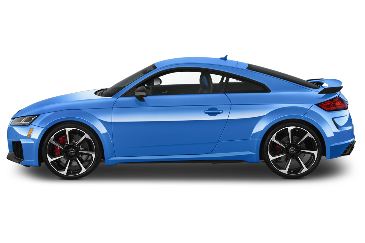 Audi TT RS side view