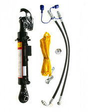 Hydraulischer Oberlenker Kat. 2-2 mit Fanghaken und Kugelauge, Hub 240 mm