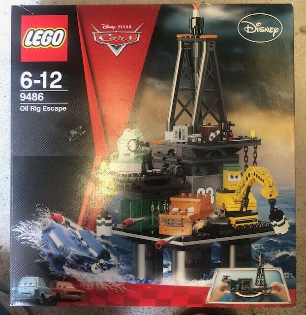 Lego 9486 Pixar Oil Rig Escape