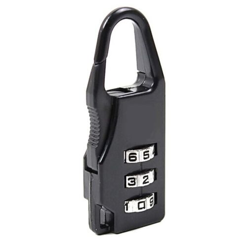 Mini Padlock Travel Suitcase Luggage Security Password Lock 3 Digit Combination