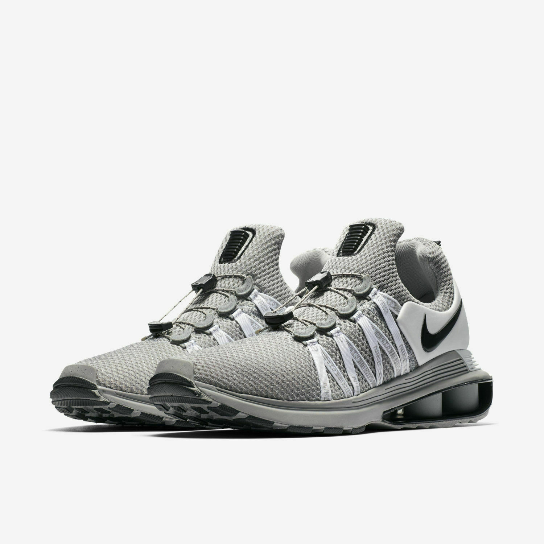 7dea3fd550 Mens Nike Shox Wolf Grey Black NEW Size 10.5 Gravity AR1999-010 ...