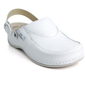 Batz Leather Mules Women Slip Sandals Ladies On Clogs White Fc10p IxnfrI