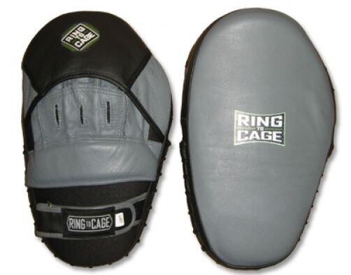 RING TO CAGE Elite Curved  Pro Punch Mitts - New   healthy