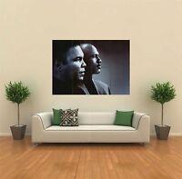 MUHAMMAD ALI MICHAEL JORDAN NEW GIANT ART PRINT POSTER PICTURE WALL G457