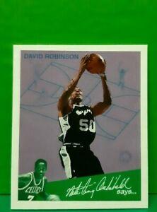 David Robinson insert card Goudey Greats 1997-98 Fleer #11