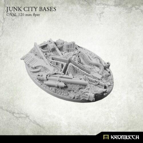 oval 120 mm - Kromlech flyer Junk City Bases