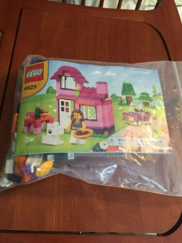 LEGO CREATOR PINK  BOX BASIC  USED 100/% COMPLETE  224 PIECES