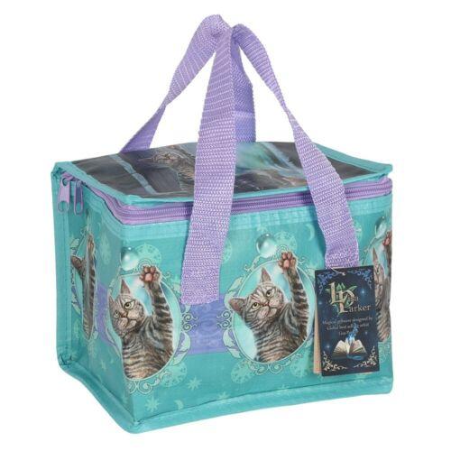 Lisa Parker Bubble Cat Thermal Cool Bag Lunch Bag Box School//Leisure 14x21x13cm