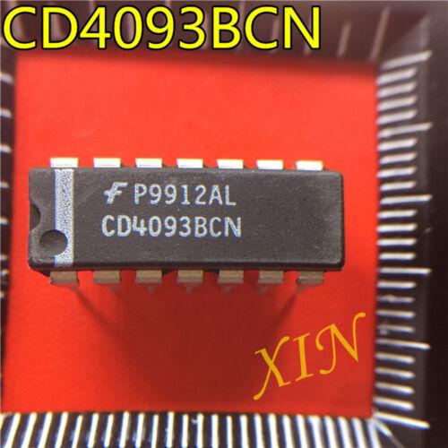 10PCS CD4093BCN CD40938CN DIP  NEW