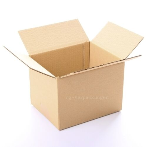 200x Faltkarton Karton 190 x 150 x 140 Faltschachtel Verpackungen Versandkarton