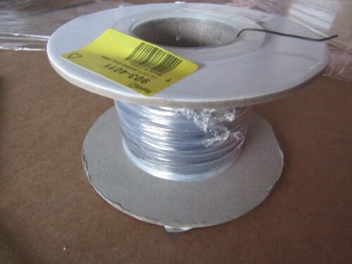 100m x UL1371 Series Grey PTFE Hookup /& Equipment Wire 26 AWG BlkBR 9034011