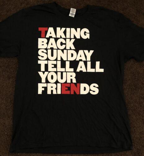 Taking Back Sunday T-shirt XL
