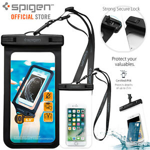 Genuine-SPIGEN-Waterproof-Phone-Case-Pouch-Dry-Bag-for-iPhone-Galaxy-Universal