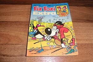 FIX-und-FOXI-EXTRA-46-Taschenbuch-von-1978-mit-Pauli-Sir-Harold