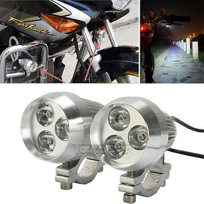 9W LED Spot Driving Light Motorcycle Car Truck Bicycle Boat Off Road Spotlight