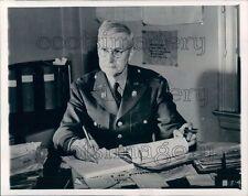 1944 US Army Colonel John Langston of Goldsboro NC in Uniform  Press Photo