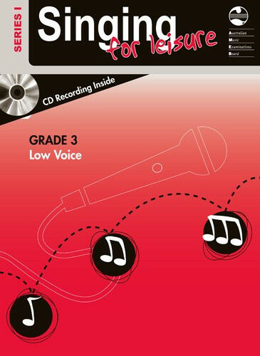 Singing for Leisure - Series 1 - Low Voice Book & CD - Third (3rd) Grade